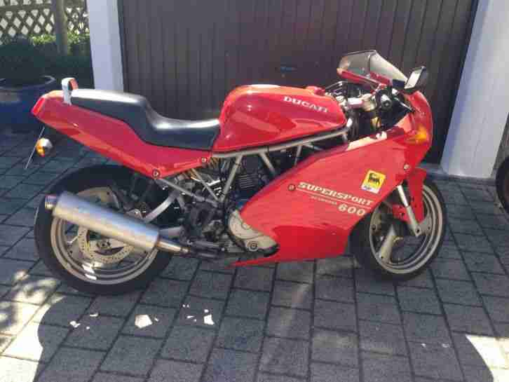 Ducati Supersport SS 600 Kundendienst neu