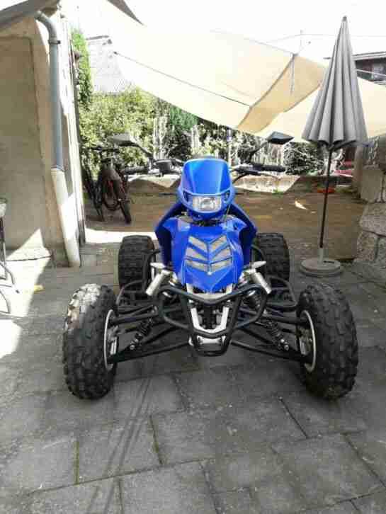 E ATV Racing Yz 450 R Quad mit Straßenzulassung.