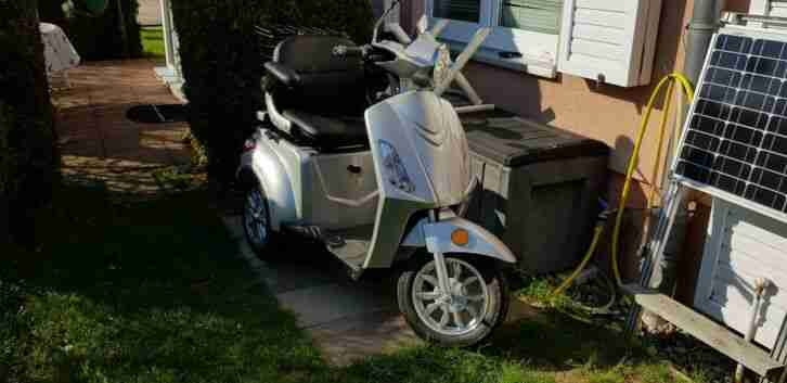 Elektro Roller dreirad