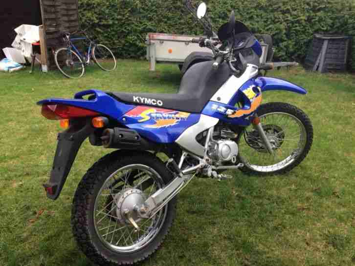Enduro 125 Kymco , Motocross light