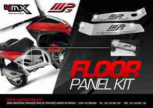 FLOOR PANEL KIT INOX MP3