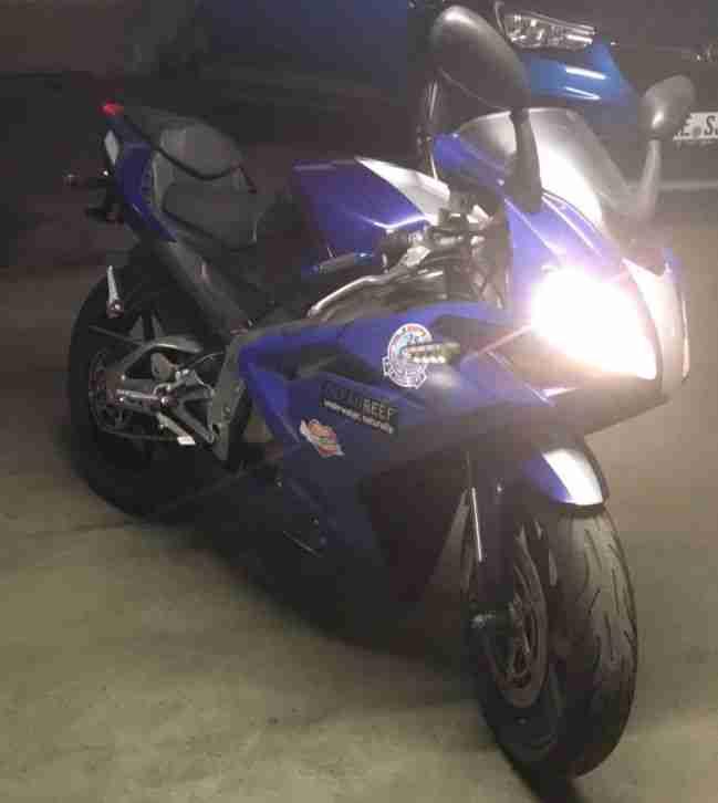 Fahrzeug Motorrad Aprilia rs 125 (Piaggio)15 PS