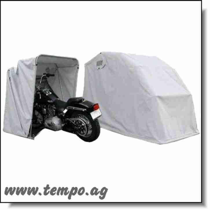 Faltgarage für Motorrad, Motorroller, Scooter