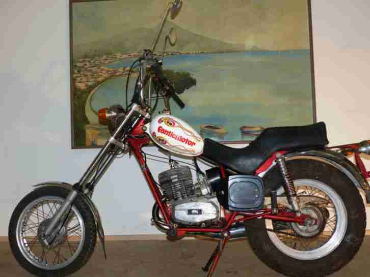 Fantic Chopper 125 ccm TX 141 Bj.1974