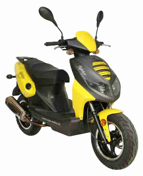 fighter 50 moped roller 50ccm scooter 45 km h bestes. Black Bedroom Furniture Sets. Home Design Ideas