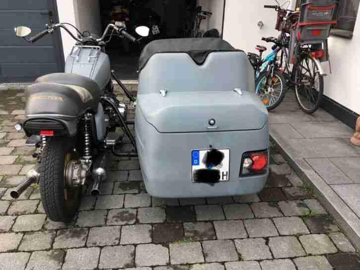 GL 1100 mit 2 Sitzer Beiwagen Gespann