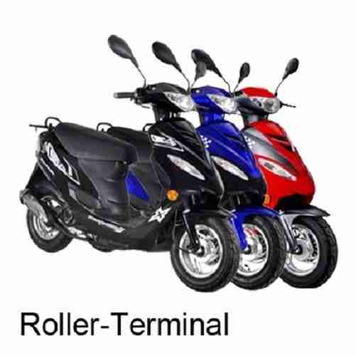 gmx 450 roller 50ccm kaufen scooter mofa bestes angebot von roller. Black Bedroom Furniture Sets. Home Design Ideas