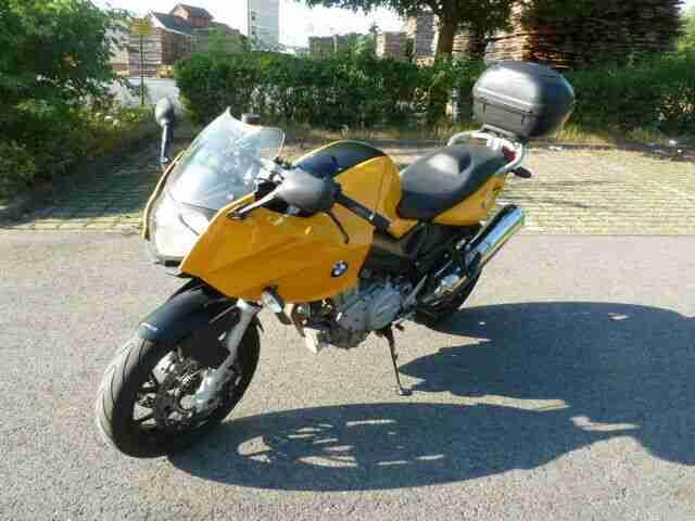 Gepflegte BMW F800S EZ 05 06, erst 22533 km, ABS, TÜV neu mit Topcase