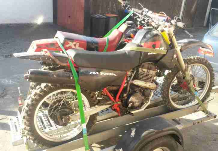 Gespann Yamaha 350, Cross 250 R,