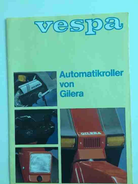 Gilera GSA 50 rot Bj 1985 Piaggio 80 er Jahre Rarität Oldtimer nur 3500 km