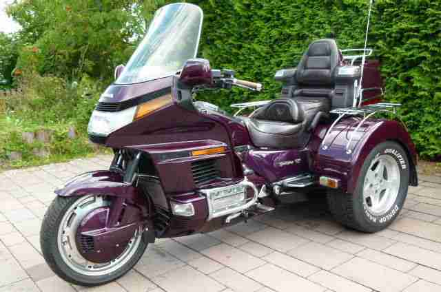 goldwing 1500 trike mit behindertenumbau bestes angebot. Black Bedroom Furniture Sets. Home Design Ideas