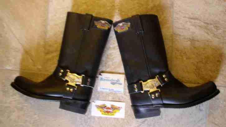 harley davidson boots stiefel hi black topseller. Black Bedroom Furniture Sets. Home Design Ideas