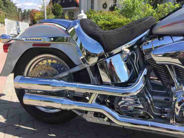 HARLEY DAVIDSON CVO FAT BOY FLSTFSE2 SCREAMIN EAGLE DEUTSCHES MODELL ! 6900KM