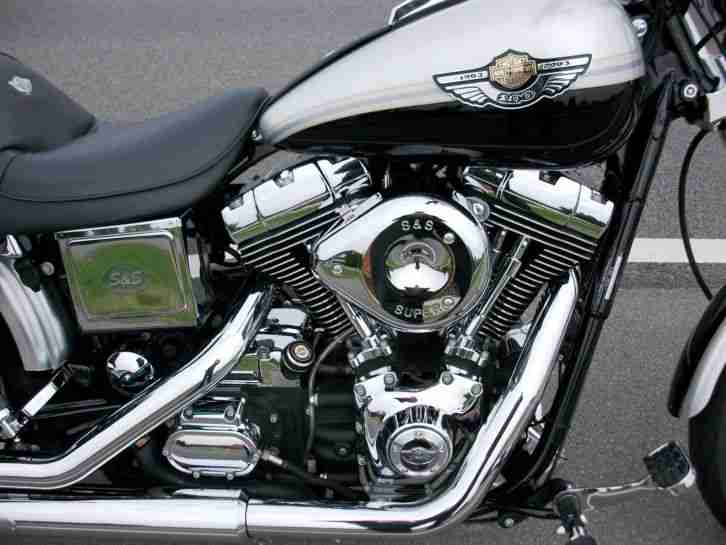Harley Davidson Wide Glide Th Anniversary