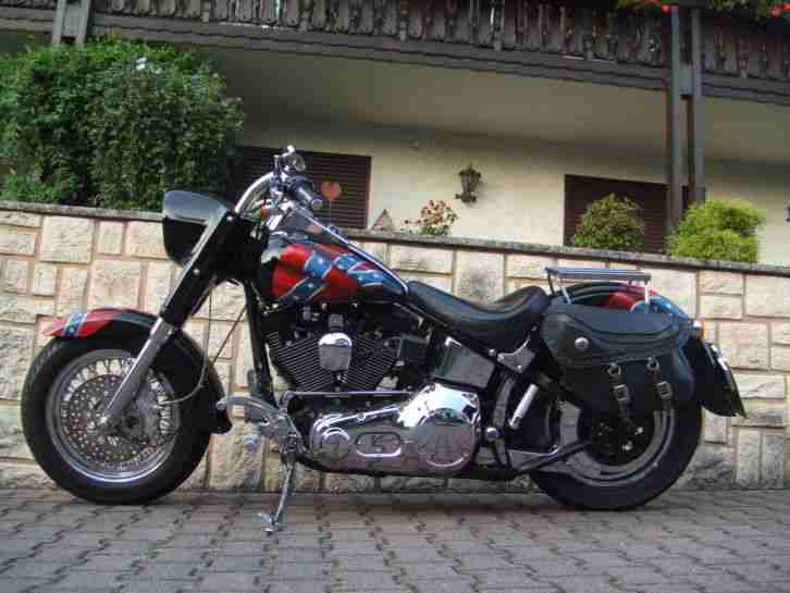 harley davidson fat boy umbau 1995 sahnest ck topseller. Black Bedroom Furniture Sets. Home Design Ideas