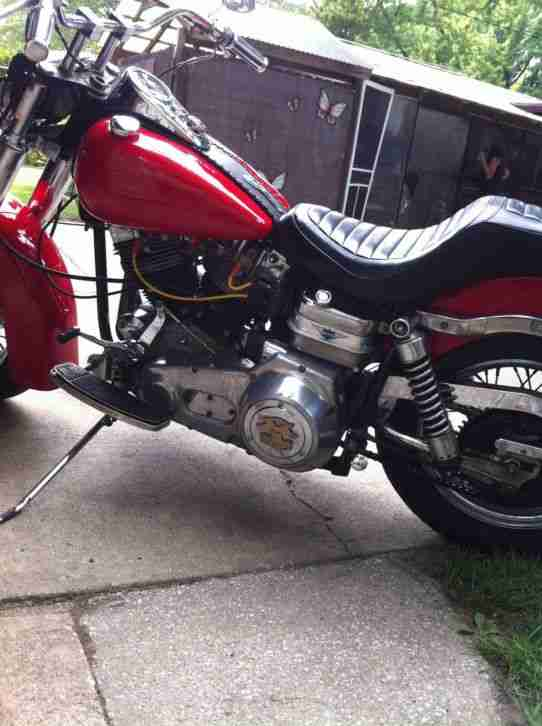 HARLEY DAVIDSON ORIGINAL 1969 FLH EARLY SHOVEL ELECTRA GLIDE
