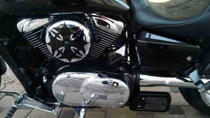 Hammer Bike Kawasaki VN 1600 Mean Streak Custom Drag Umbau Top Zustand