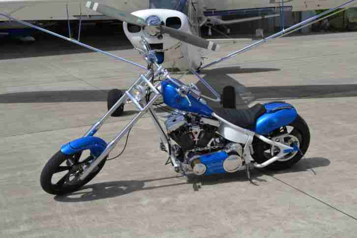 Hammer Custombike Chopper Deutsches Bike