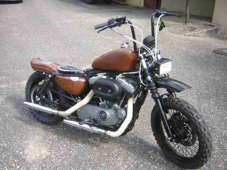 Harley 2008er Sportster Nightster TÜV neu, erste Hand,Bobber