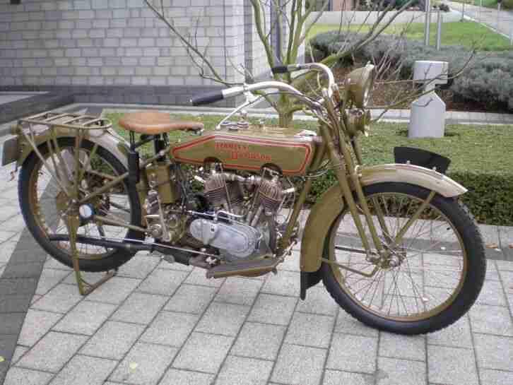 Harley Davidson 1920 1000er V2 Modell J JD D Oldtimer Vorkrieg fast100 Jahre alt
