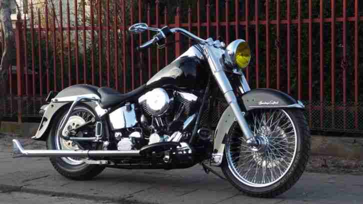 Harley Davidson 1999 Heritage Softail Cholo Mexican Classic Evo Evolution FLSTC