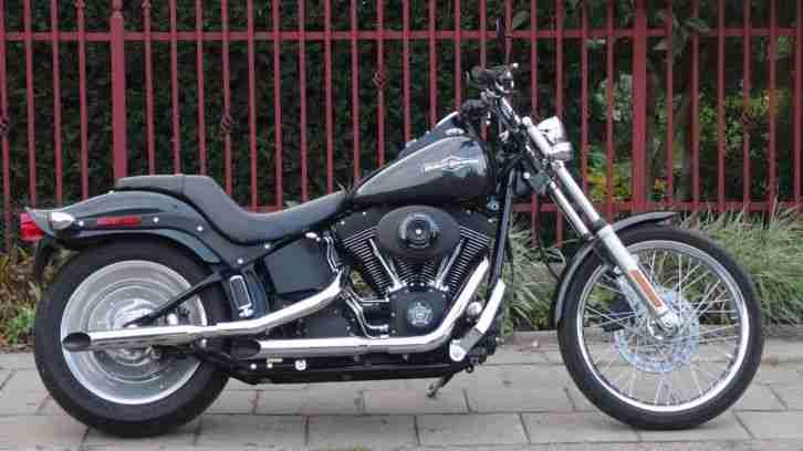 Harley Davidson 2006 Night Train FXSTB super zustand wie NEU Softail