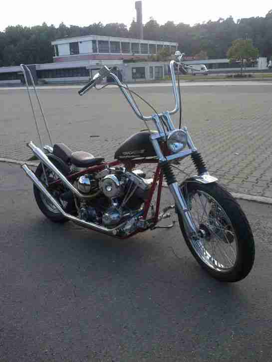 Harley Davidson Classic Frisco Chopper Bj 1959 Real History Classic Bike!