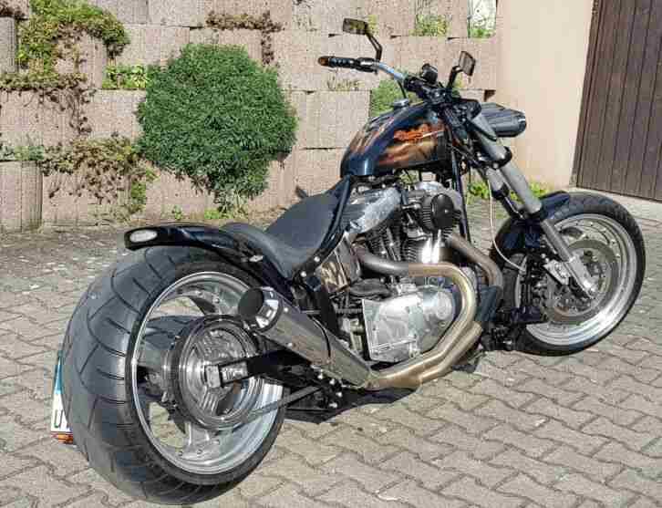 Harley Davidson Custom 1200 HD Eck Umbau