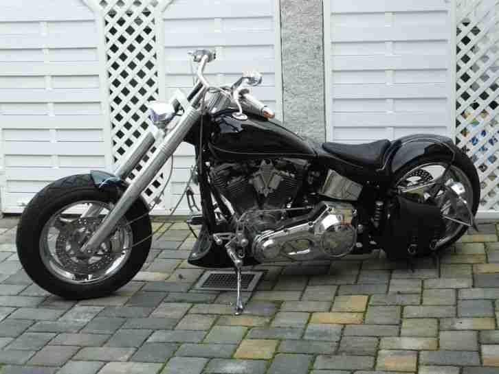harley davidson custom bike schwarz topseller harley. Black Bedroom Furniture Sets. Home Design Ideas