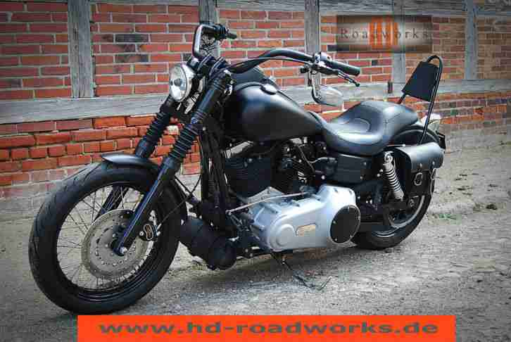 harley davidson dyna street bob fxdb 1 hand topseller. Black Bedroom Furniture Sets. Home Design Ideas