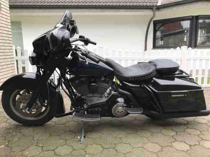 Harley Davidson Electra Glide FLHT Vergasermodell TOP GEPFLEGT!