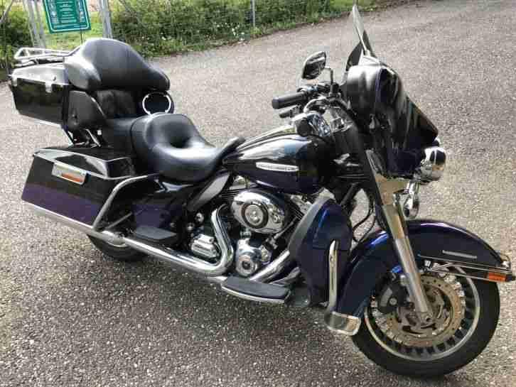 Harley Davidson Electra Glide Ultra Limited deutsches Modell leicht Beschädigung