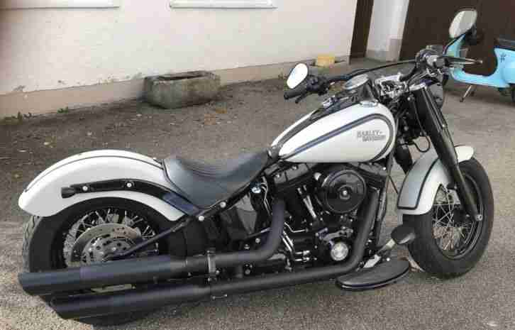 Harley Davidson FLS Softail Slim 2015 Motorrad Screaming Eagle FLS s Unikat