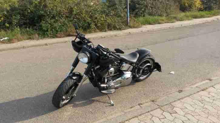 Harley Davidson FLSTF Fat Boy 200er Umbau