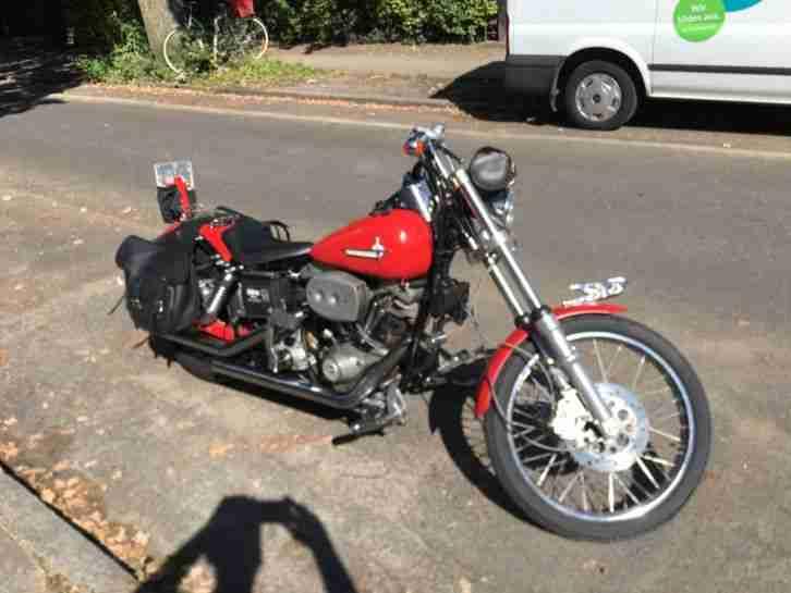 Harley Davidson FX, Shovel S S Stroker, 104 db, komplett individualisiert