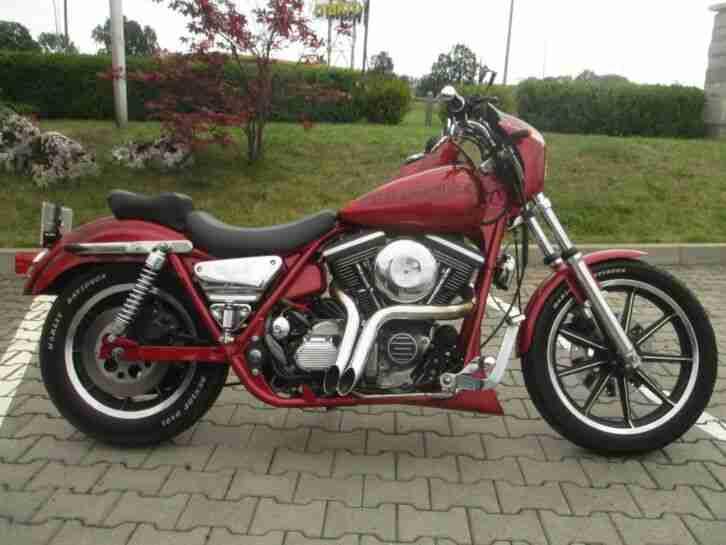 Harley Davidson FXR 1992 EVO Top Zustand EU Zulassung