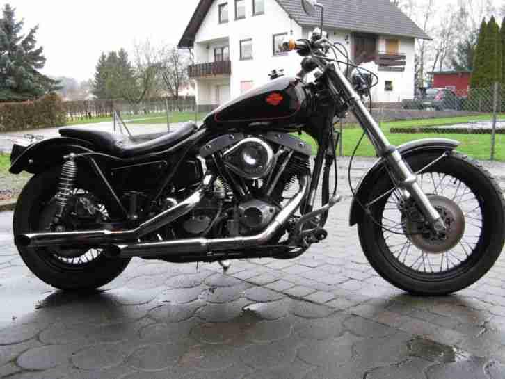 Harley Davidson FXR Shovelhead Bj.1984