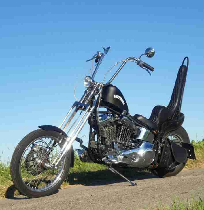 Harley Davidson,FXST,Softail,EVO,96er,Custom,Springer ,Chopper,Retro, Frisco