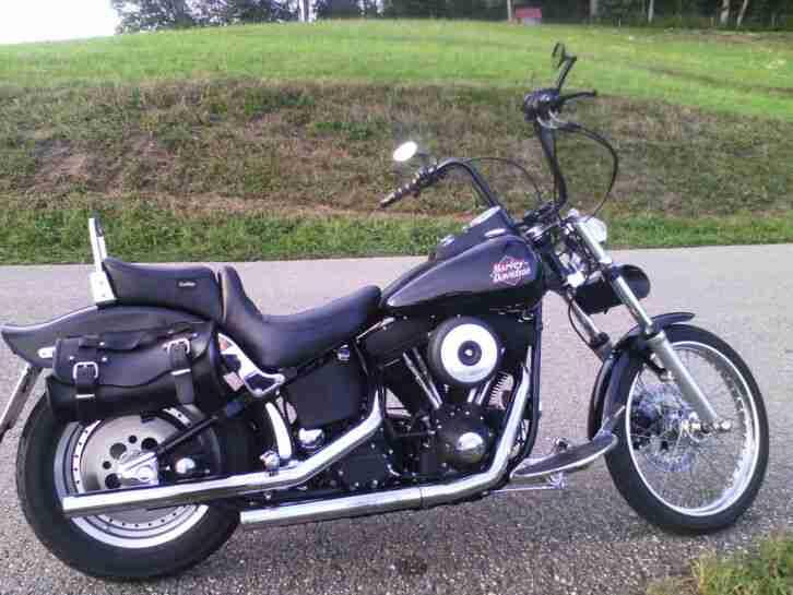 Harley Davidson FXSTB Night Train Softail EVO 1999 Vergaser,sehr selten,USA
