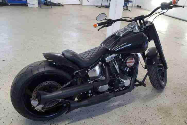 Harley Davidson Fat Boy FLSTC FLSTF, Hammer, VB