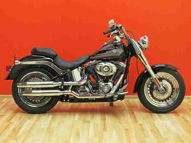 Harley Davidson Fat Boy FLSTF 2010 Softail Top Zustand Twin Cam