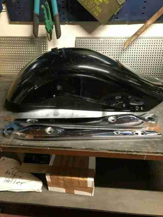 Harley Davidson Fender Streben und Schutzblech als Geschenk