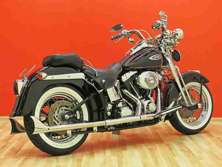 Harley Davidson Heritage Springer FLSTS 2002 Softail Twin Cam Top Zustand
