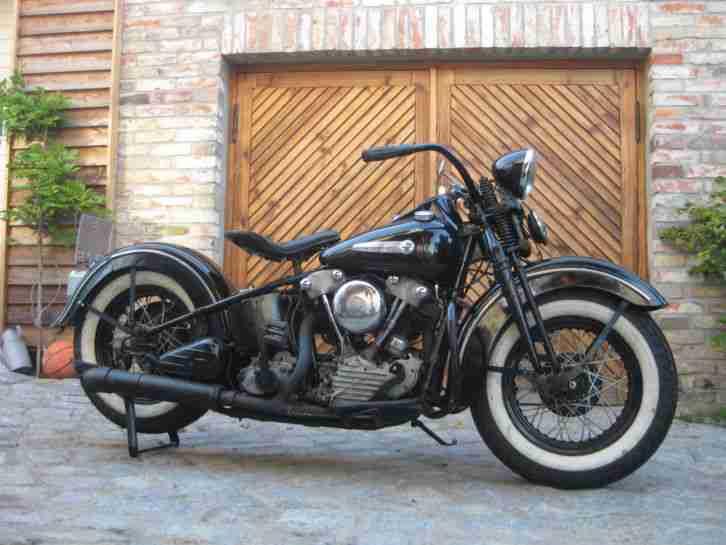 Harley Davidson Knucklehead Gebraucht