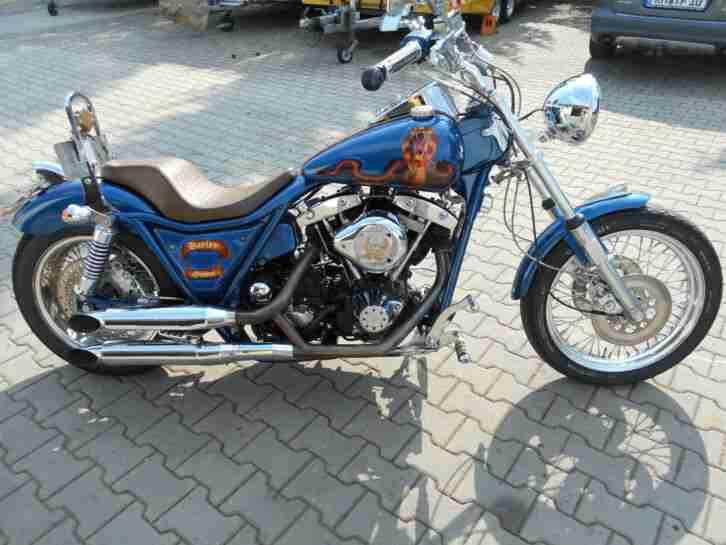 Harley Davidson Shovel Head FXR Top TÜV 3 2021 , Sammlerstück