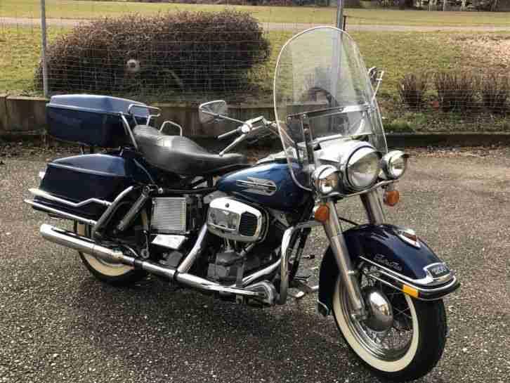 Harley Davidson Shovelhead 79er FLH TÜV neu