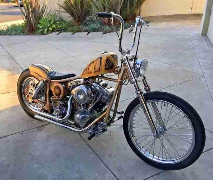 Harley Davidson Shovelhead 80 Custom Swingarm