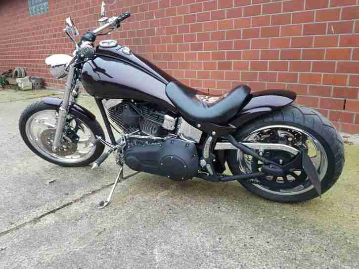 Harley Davidson Softail FXSTC tüv 2021 bj 2007