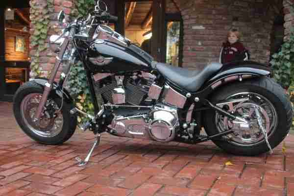 Harley Davidson Softail Fat Boy Anniversary Custombike
