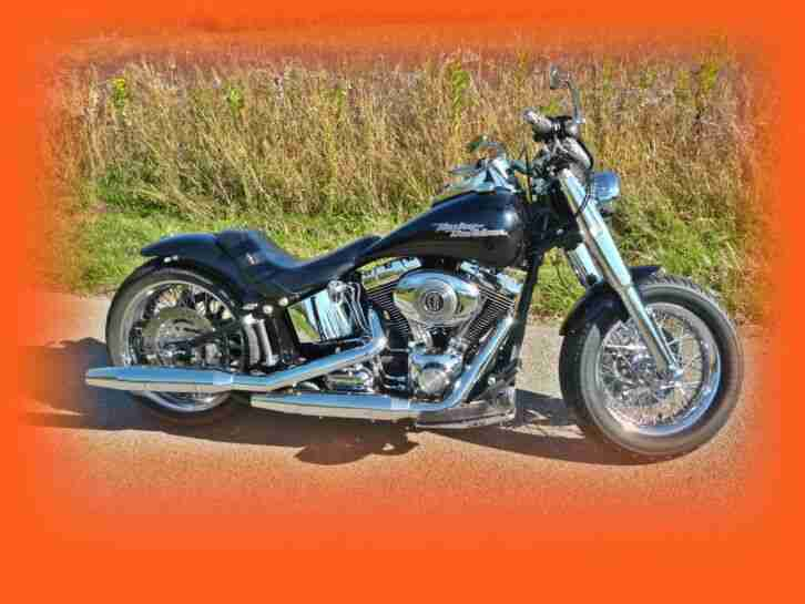 Harley Davidson Softail Heritage mit 260 Heckumbau EZ 07 2007 22,369 Km